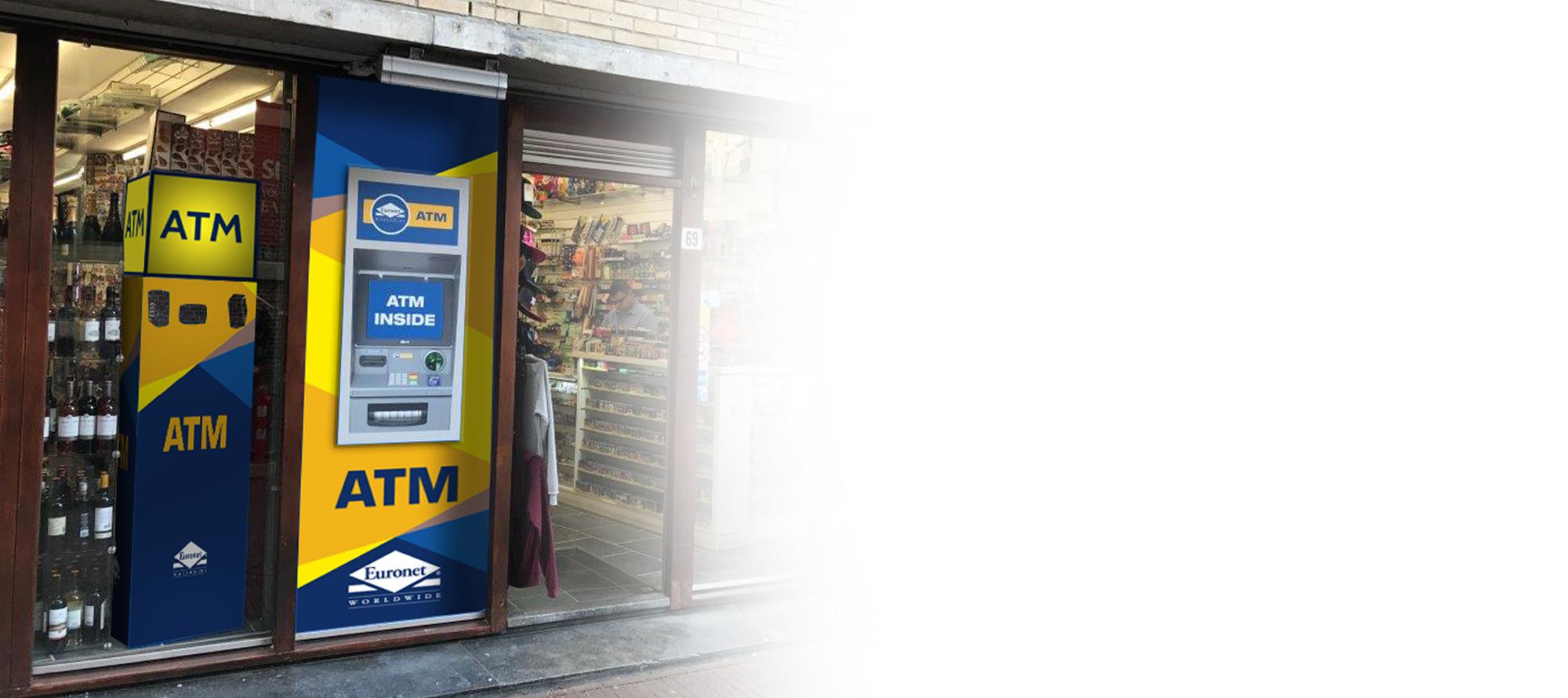Bied uw klanten extra service met een Euronet geldautomaat.