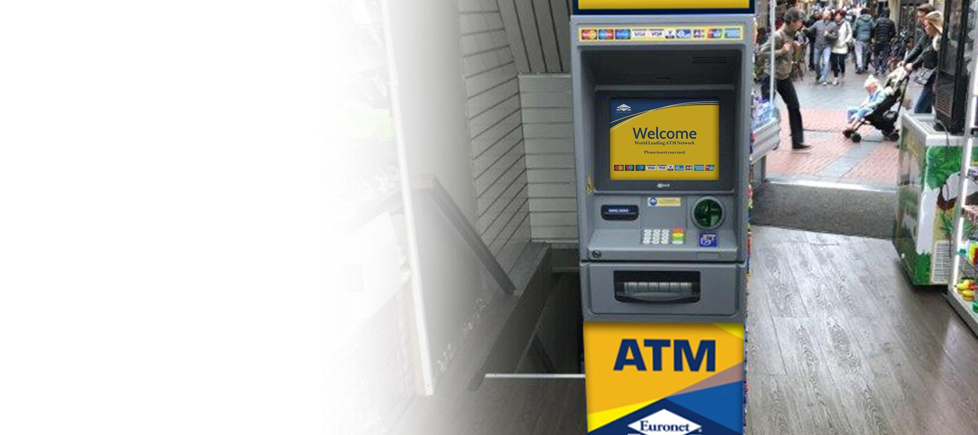 Wij beheren en onderhouden de geldautomaat voor u en wij garanderen de best mogelijke dienstverlening voor uw klanten.